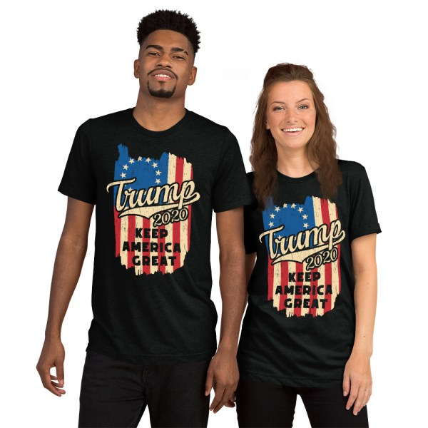 Betsy Ross Trump 2020 Keep America Great T Shirt | Political T Shirts, Gifts, and Gift Ideas for Republicans and conservatives | PoliticalGift.com