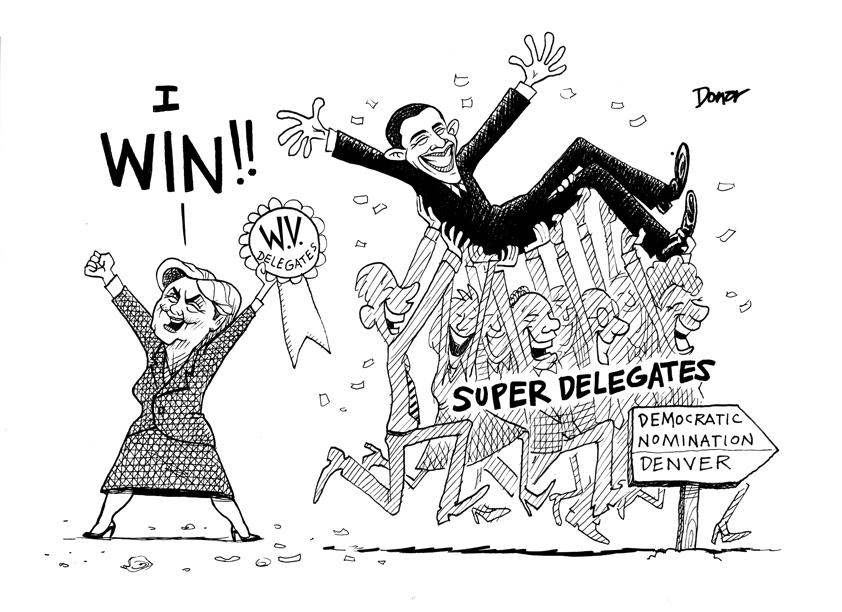 Hillary Clinton Wins!