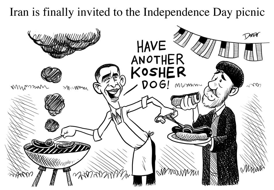 iran obama cartoon