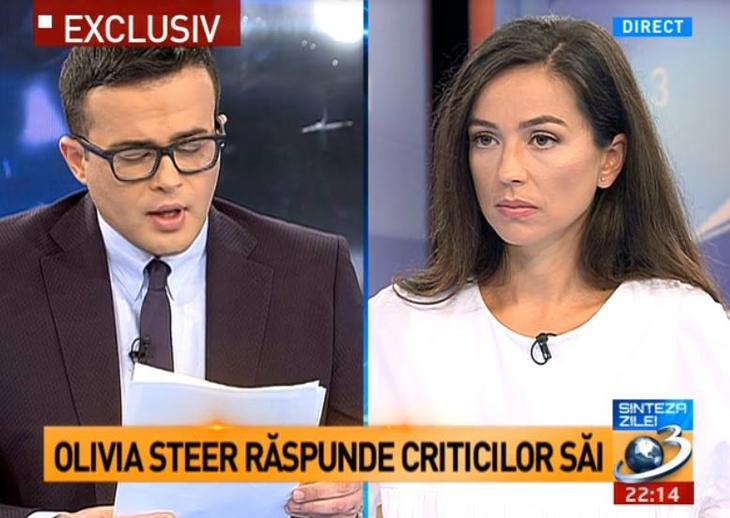 De ce este periculos interviul dat de Olivia Steer la Antena 3
