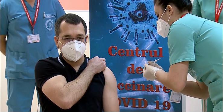 Vlad voiculescu vaccinare