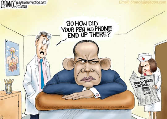 doctor-removing-pen-phone-from-obama-ass