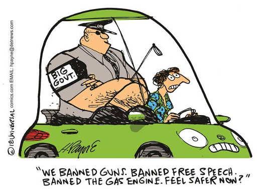 government-ban-guns-free-speech-gas-feel-safe