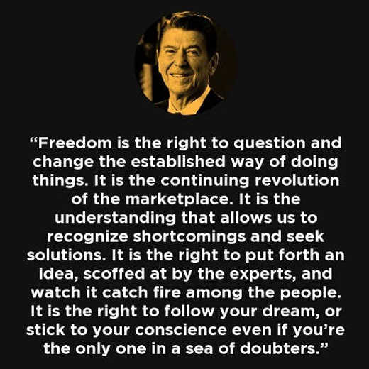 reagan-quote-freedom-is-right-to-question-change-established-way-doing-seek-solutions