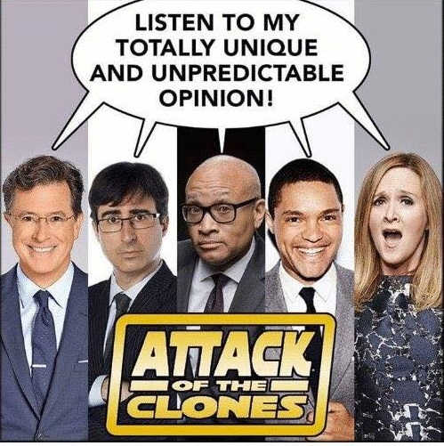 attack-of-the-clones-comedians-bee-colbert-totally-unpredictable-opinion