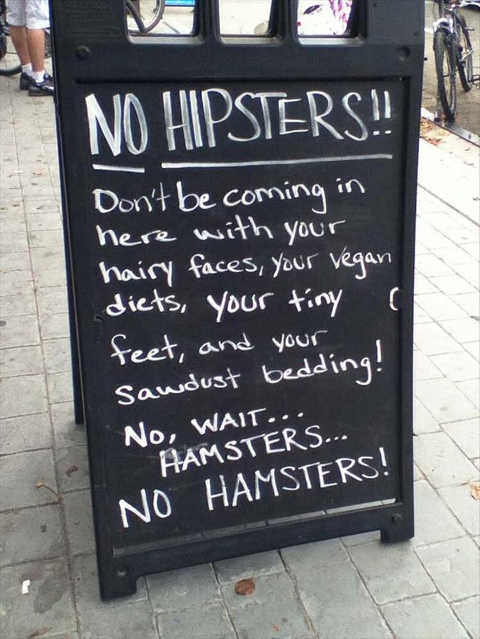 no-hipsters-no-hamsters-bar-sign