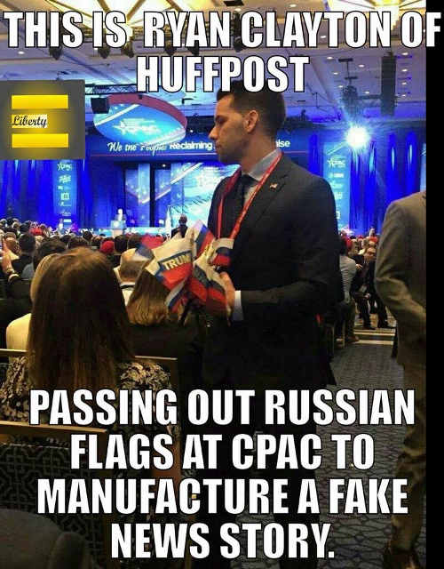 ryan-clayton-huffington-post-passing-out-russian-flags-cpac-fake-news