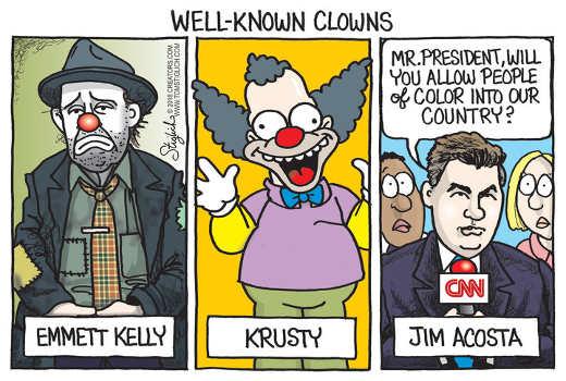 well-known-clowns-kelly-krusty-jim-acosta