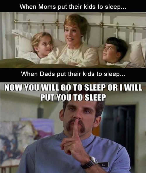 when-mom-puts-kids-to-sleep-versus-when-dad-does-it