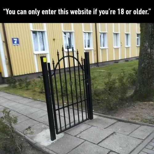 you-can-only-enter-website-if-18-or-older-fence-sidewalk