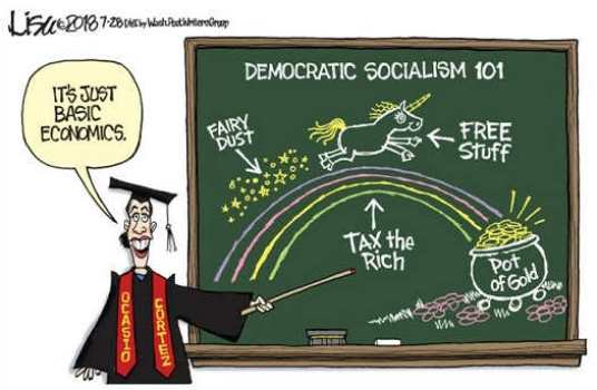 basic-economics-democratic-socialism-fairy-dust-tax-rich-pot-of-gold