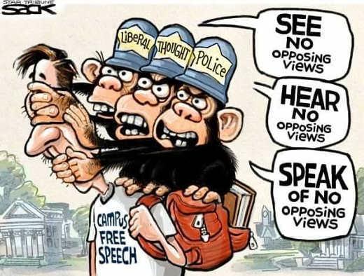 campus-free-speech-see-no-hear-speak-no-opposing-views