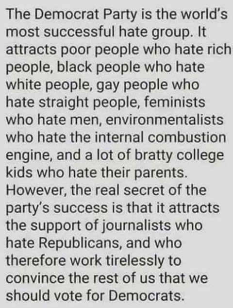 democratic-party-is-worlds-most-successful-hate-group-blames-on-republicans