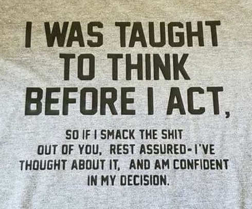 i-was-taught-to-think-before-i-act-so-if-i-smack-shit-out-of-you-am-confident-in-my-decision