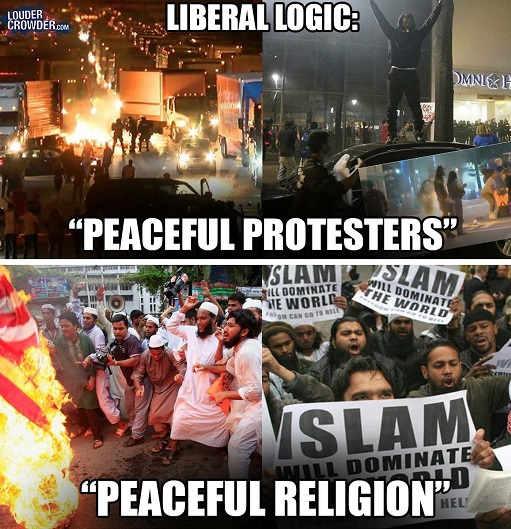 liberal-logic-peaceful-protesters-religion-islam