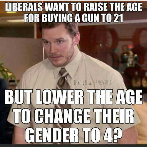 liberals-want-to-raise-gun-age-to-21-lower-gender-change-to-4