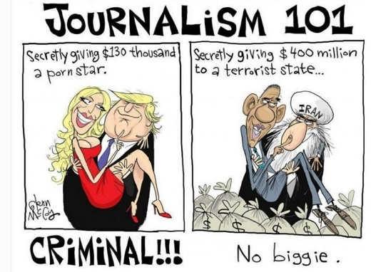 media-trump-secretly-giving-thousands-to-porn-star-criminal-obama-giving-millions-to-iran-no-biggie
