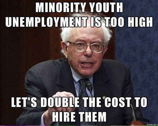 minority-youth-unemployment-too-high-lets-double-cost-to-hire-them-bernie-sanders