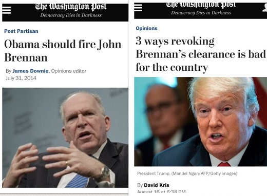 washington-post-calls-for-john-brennan-firing-now-says-bad-idea-after-trump-revokes-security-clearance