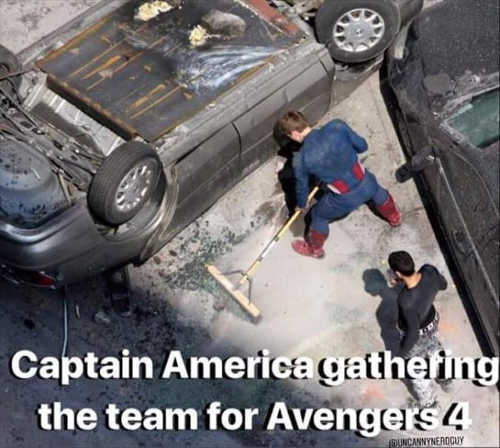 captain-america-prepares-for-next-infinity-war-dust-pan-broom