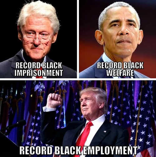 clinton-record-black-employment-obama-welfare-trump-employment