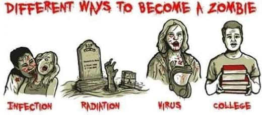 different-ways-to-become-zombie-bite-virus-college