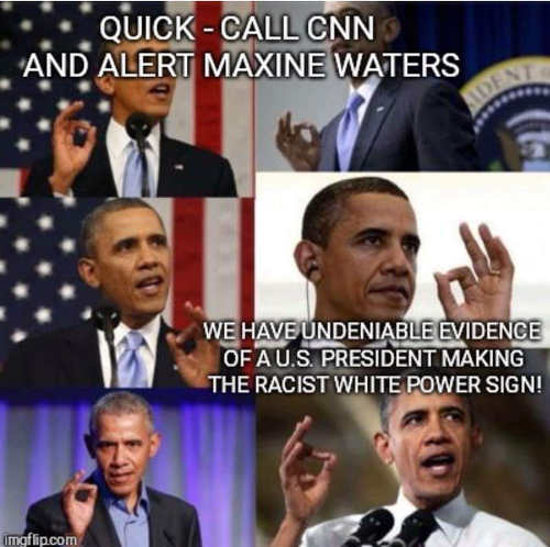 quick-call-cnn-alert-maxine-waters-obama-using-white-power-hand-sign