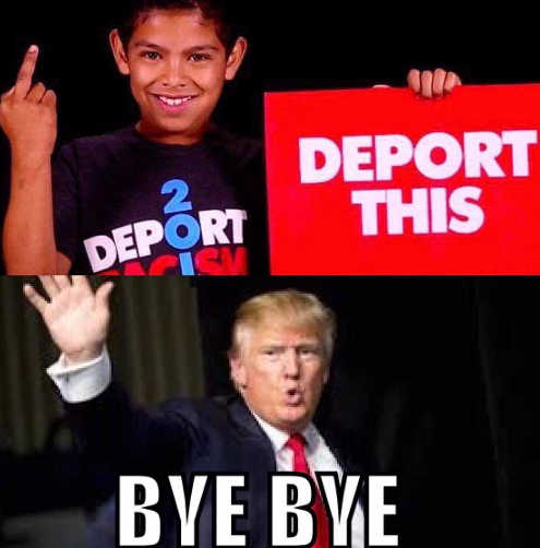 trump-deport-this-bird-kid-bye-bye-middle-finger