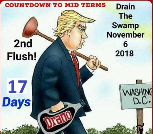 countdown-to-drain-swamp-november-6th-2nd-flush-drano-trump-midterms