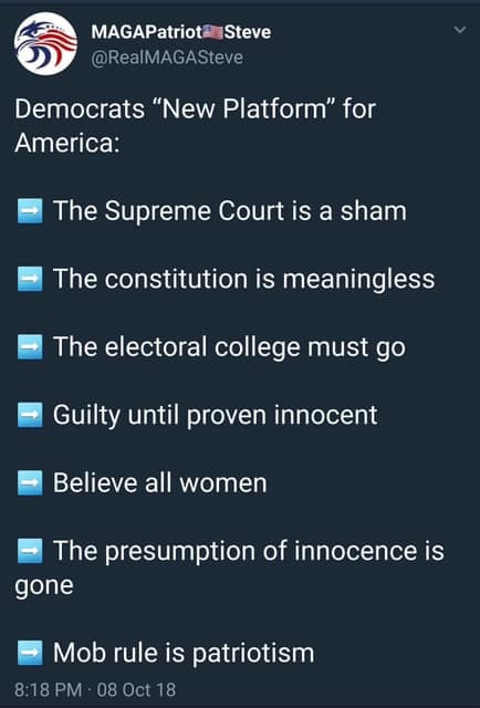 democratic-party-platform-2018-no-supreme-court-mob-rule-constitution-is-meaningless-electoral-college-must-go