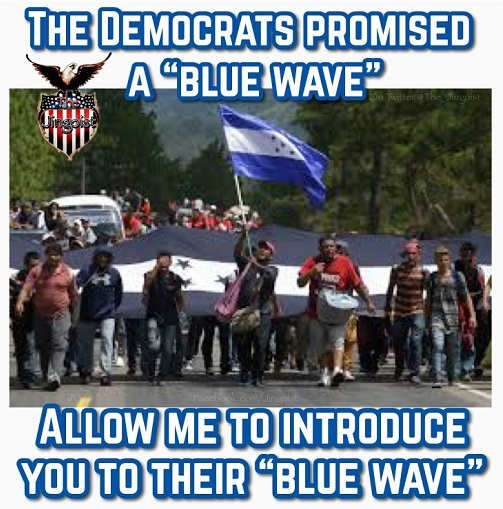 democrats-blue-wave-immigrant-blue-hondorus-flag