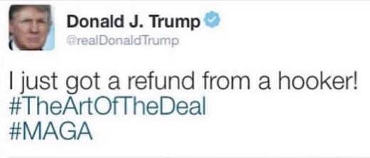 donald-trump-i-got-refund-from-hooker-art-of-the-deal-maga-tweet