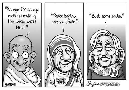 gandhi-mother-theresa-hillary-clinton-comparison-bash-some-skulls