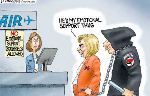 hillary-clinton-hes-my-emotional-support-thug-antifa