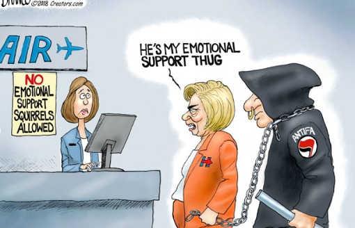 hillary-clinton-hes-my-emotional-support-thug-antifa