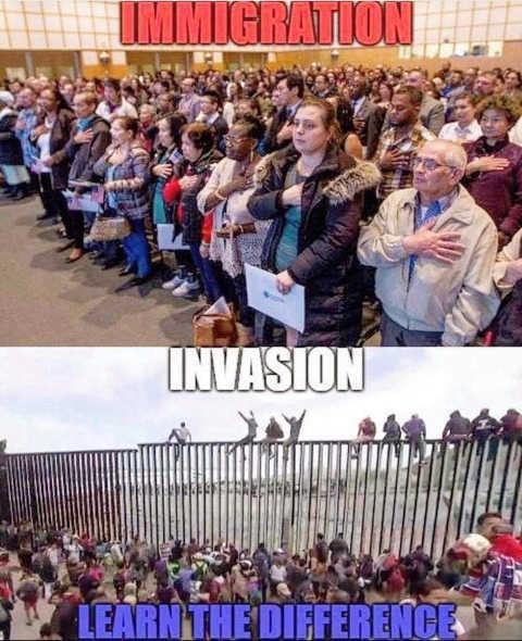 honduran-caravan-immigration-invasion-notice-the-difference