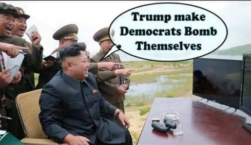 kim-jong-un-trump-make-democrats-bomb-themselves