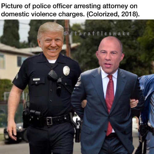 avenatti-pictures-of-arresting-officer-trump-cop
