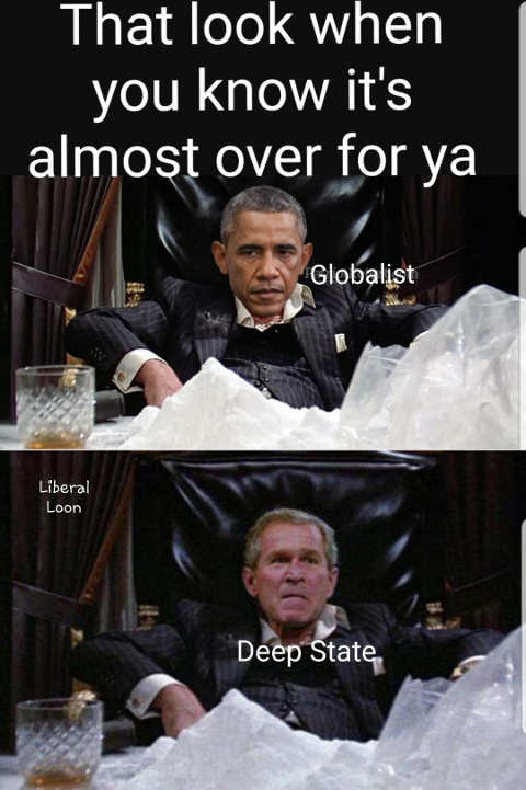 barack-obama-george-w-bush-scarface-look-when-you-know-almost-over-deep-state-globalist