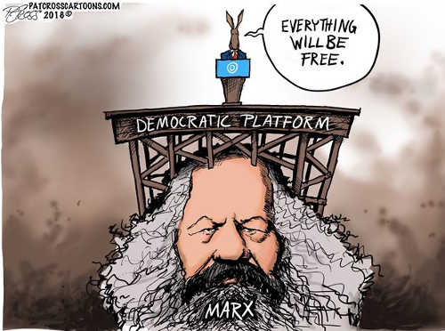 democrats-with-karl-marx-everything-will-be-free
