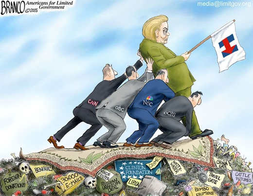 hillary-clinton-press-holding-up-on-top-of-scandals