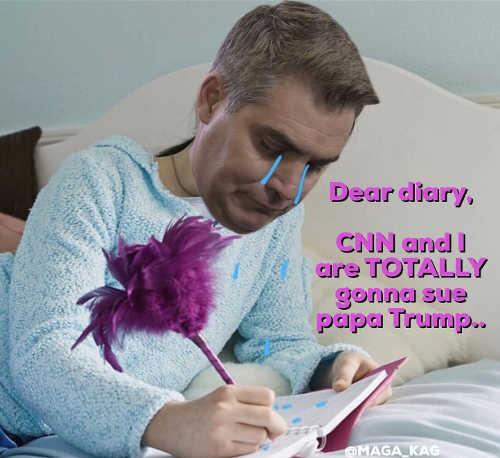 jim-acosta-dear-diary-cnn-i-going-to-totall-sue-papa-trump-tears
