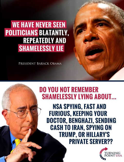 obama-never-seen-politicians-lie-so-much-nsa-spying-keep-your-doctor-cash-to-iran-hillary-private-server-benghazi