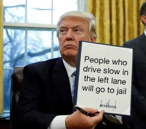 people-who-drive-slow-in-left-lane-will-go-to-jail
