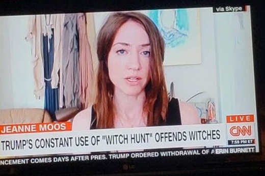 cnn trumps use of witch hunt offends witches