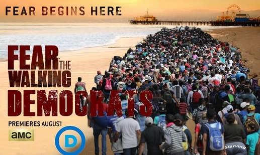 fear the walking democrats honduran immigrant caravan