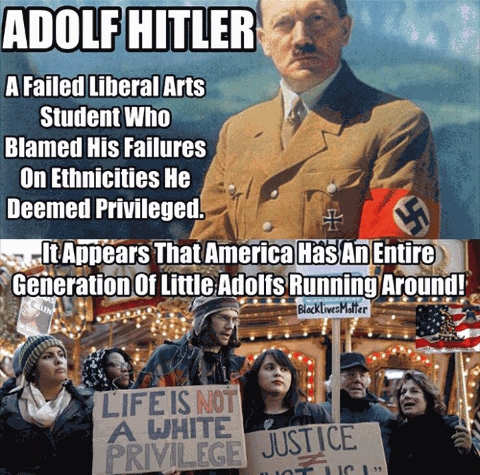 hitler failed liberal arts student blamed failures on ethnicity deemed privilege america has come around