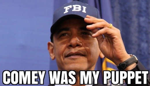 obama james comey was my puppet