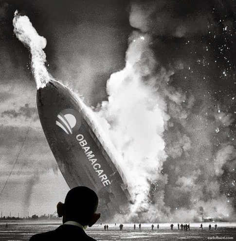 obamacare blimp disaster crash