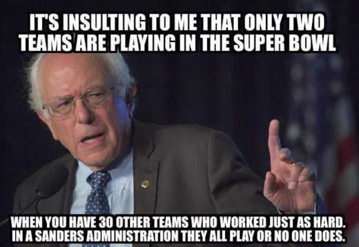 bernie-sanders-insulting-only-two-teams-in-superbowl-30-others-will-play-in-my-administration